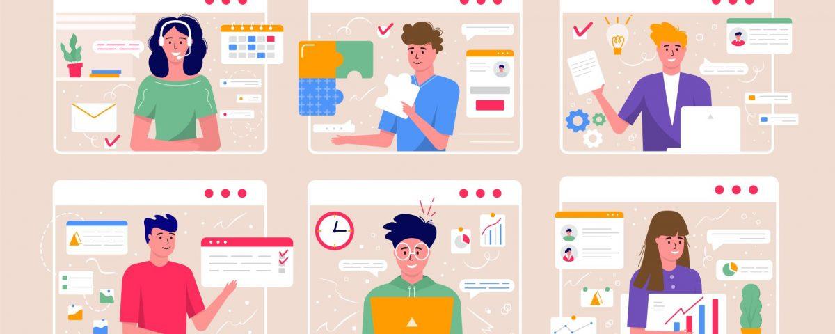 Gestión eficaz de reuniones virtuales