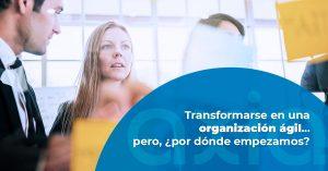 Transformarse en una organización ágil